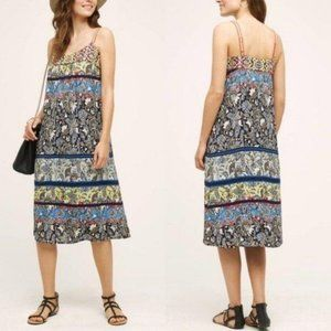 Anthro Cosima Dress One September Embroidered